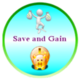 Save and Gain logo