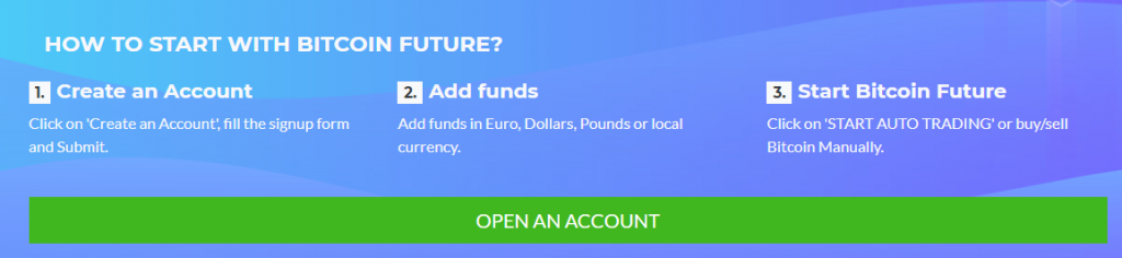 bitcoin future sign up