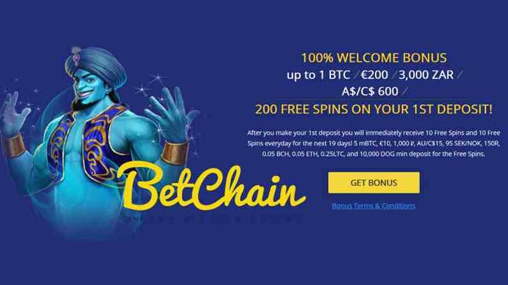Betchain Casino Casino Reviews Coinlib News